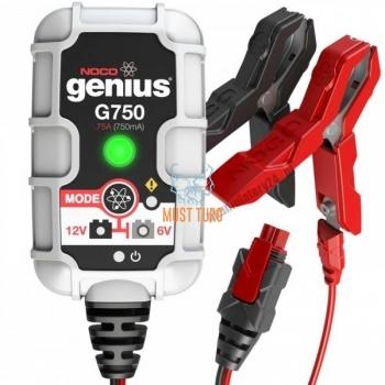 Battery charger Noco G750 6V/12V 0.75A Smart Charger