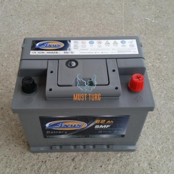 Car Battery 62Ah 480A 242X175X190 -/+ Fixus
