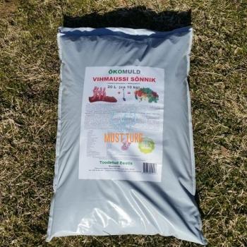 Vihmaussi sõnnik 20L (ca 10kg)