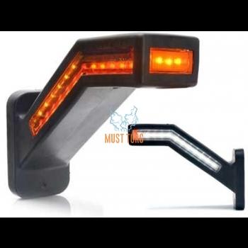 Ääretuli LED parem 12-24V piduritulega