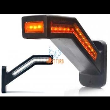 Ääretuli LED vasak 12-24V piduritulega