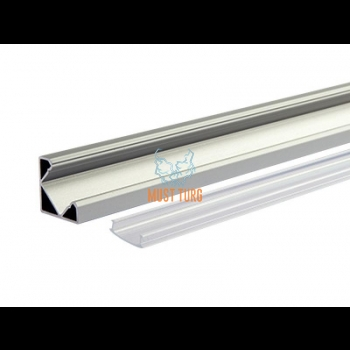 Aluminum profile led for light strip 12.3 / 17.9x1000mm
