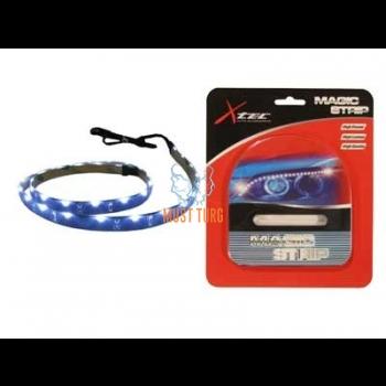 Led light strip blue light 12V 36 LED 8x2.5x600mm