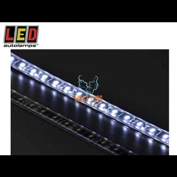 LED light strip of the white light LED 27 12V 314lm IP67 457x12x5mm