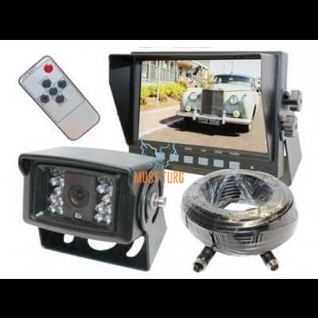 "Reversing camera kit 7 ""with display"