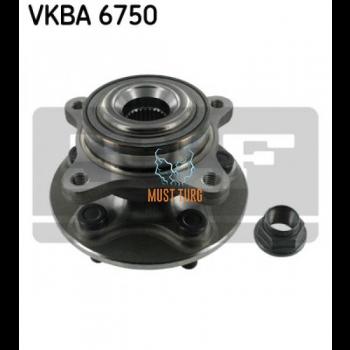 Wheel bearing front axle SKF VKBA6750 Land Rover 05-13