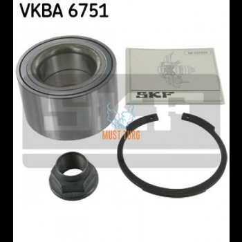 Wheel Bearing Rear Axle SKF VKBA6751 Land Rover 05-13