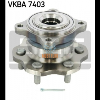 Wheel Bearing Rear Axle SKF VKBA7403 Nissan Pathfinder III 05-13
