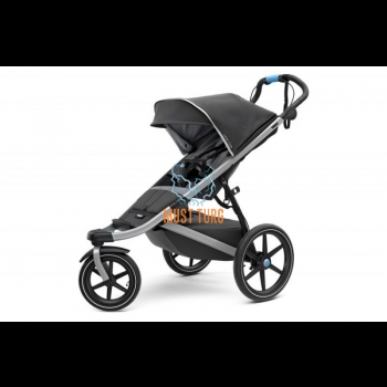 Thule Urban Glide 2 baby carriage color gray