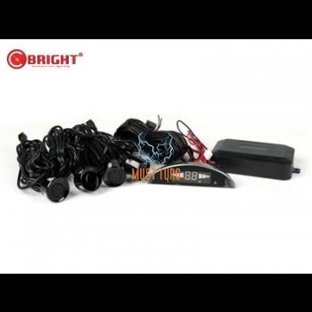 Parking sensors kit color black