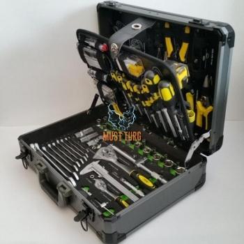 Tööriistakohver 198-osaline hobikasutajale 1/2 1/4 JBM