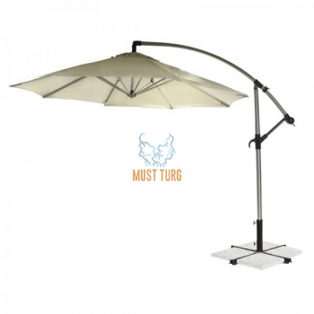 Sunshade diameter 300cm beige color