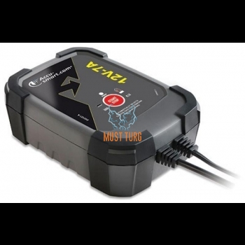 Accu-Smart Battery Charger 12V 7A