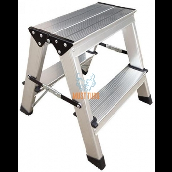 Workstation with 2x2 step height 370mm