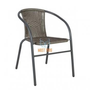Garden chair Bistro color gray