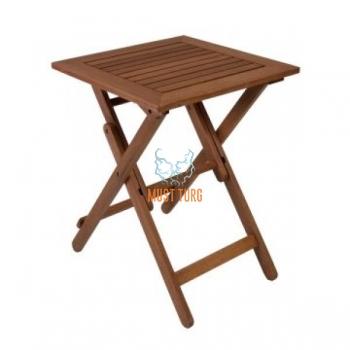 Wooden table Rouen 50x50xH68cm