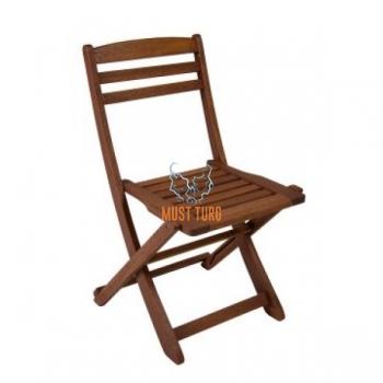 Wooden chair folding Rouen 47x53xH84cm