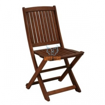 Wooden chair folding Modena 47x56,5xH91cm