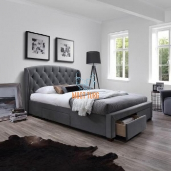 Bed Louis 4-drawer 160x200cm Hall without mattress