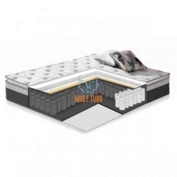 Spring Mattress Harmony Top Pocket 160x200xH33cm