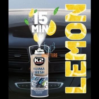 Kliimasüsteemi puhastaja sidrunilõhnaga K2 150ml