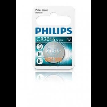 Patarei CR2016 Philips