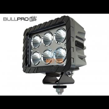 Work light 12-48V 120W 7000lm IP68, EMC CISPR 25 Class 5 Bullpro