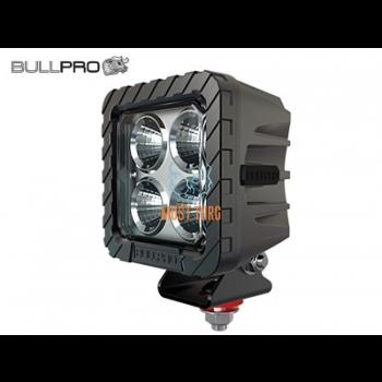 Work light 12-48V 80W 5500lm IP68, EMC CISPR 25 Class 5 Bullpro