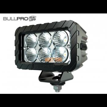 Work light 12-48V 60W 5000lm IP68 EMC CISPR 25 Class 5 Bullpro