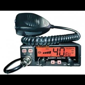 CB radio President Barry 40 channels AM / FM power 4W