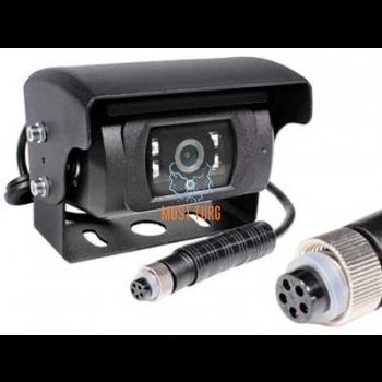 HD tagurduskaamera 12V 5-klemmiga vaatenurk 130° IP69K mootoriga katik/soojendus