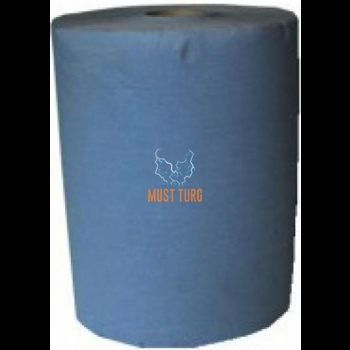 Roll paper 3 ply high quality paper, free 190mx37cm blue