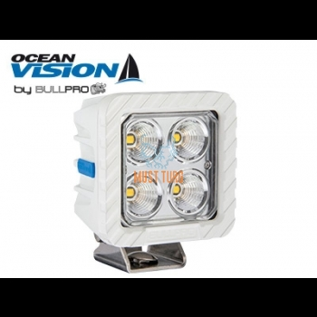 Work light LED 60W 12-48V 5500lm EMC CISPR 25 Class 5 IP68 Ocean Vision