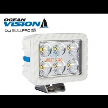 Work light LED 120W 12-48V 7000lm EMC CISPR 25 Class 5 IP68 Ocean Vision