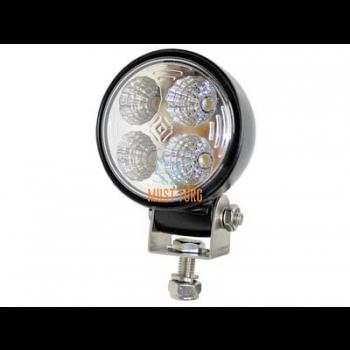 Work light LED 12W 12-24V 750lm IP67 20G CE RFI/EMC