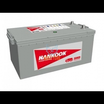 Truck Battery 225Ah 1150A 516X274X236 +/- maintenance free battery Hankook