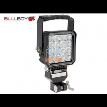Work light Led 12-36V 24W 2000lm R10 IP67 Bullboy