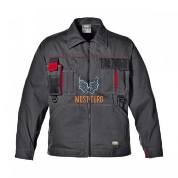 Work jacket Sir Harrison gray