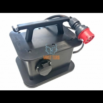 Mobile charging station 3x16A max 11kW Type2 connector Defa EV