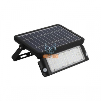 Floodlight with motion sensor solar panel 10W 1080lm IP65 Kobi