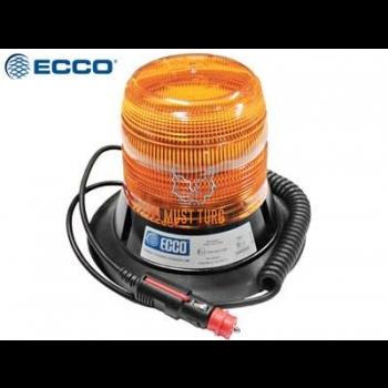 Flashing xenon yellow ECE R65 magnetic mount 112km / h