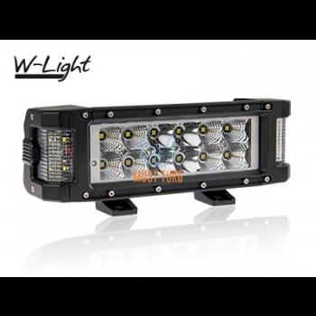 Worklight High beam Panel Side Light Heated ATV le 72W 10-30V 7200lm W-Light