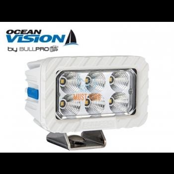Work light 60W 12-48V 5000lm EMC CISPR 25 Class 5 IP68 spotlight Ocean Vision