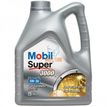 Engine oil 5W-30 Mobil Super 3000X1 Formula FE 4L
