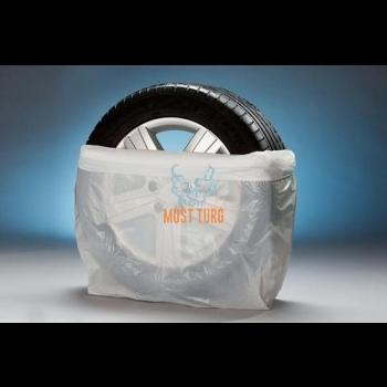 Tire bags 70x30x120mm white 200pcs