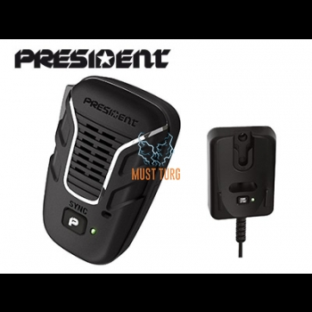Wireless microphone for CB radio stations President Liberty
