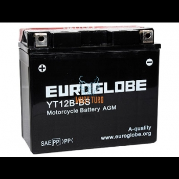 Motorcycle battery 10Ah (+ / -) 12V 150x69x130mm