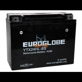 Motorcycle battery 21Ah (- / +) 12V 205x87x162mm