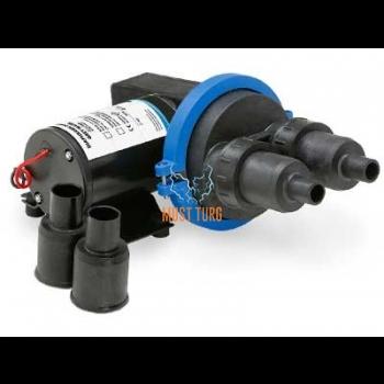 Sewage membrane pump 12V 22l / min compact