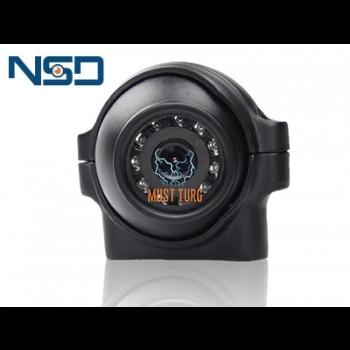 Parkimiskaamera HD 12V soojendusega 4 klemmiga IP69K 74x63.5x55.5mm NSD